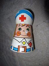 Vintage 1975 Motor Friend rolling nurse friction toy by Nasta Ind Inc, Hong Kong