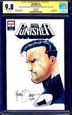 Punisher #1 BLANK CGC SS 9.8 signed ORIGINAL SKETCH Mike Zeck Steve Lydic NM/MT