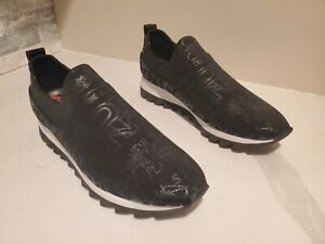 DKNY Signature Slip-on Platform Women's Sneakers Shoes Black