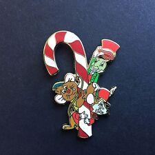 DisneyShopping.com 2007 Advent Pin Timothy Gus & Jiminy Cricket Disney Pin 58393