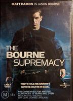 The Bourne Supremacy DVD