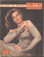 French Magazine PARIS HOLLYWOOD, 1950's issue # 59 JANE RUSSEL_ANN BAXTER PIN-UP