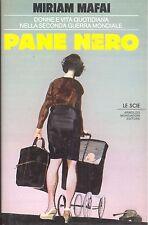 Miriam Mafai: Pane nero Mondadori,  1988