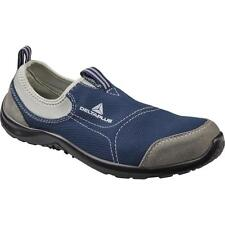 Delta plus Navy Miami S1P safety shoes, lightweight slip on,Metal toe Uk size 12