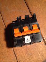 FEDERAL ELECTRIC STABLOK 15 AMP 3ph MCB CIRCUIT BREAKER
