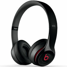 BEATS SOLO 2 BLACK RED by Dr Dre Support de Tête Casque-Black Red Solo 2