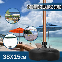 Patio Yard Outdoor Round Parasol Base Stand Beach Garden Sun Umbrella Holder