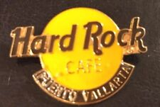 Hard Rock Cafe Puerto Vallarta classic logo pin