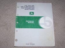 John Deere 21C 21S 25S 30S & 38B Gas Line Trimmer & Brush Cutters Tech Manual B8