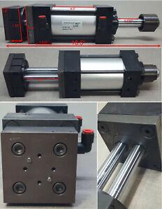 Numatics Pneumatic Cylinder Actuator S4FP-03A1C-JDA2. 250psi