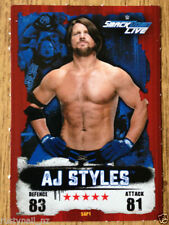 Topps WWE Season Wrestling Trading Cards 2016