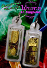 Ra-tuay Mystic Woods 200 year Phra Arjarn O Thai Amulet Love Charm Super Rare