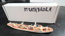 g Waterline Hansa Gb Cargo Ship 'Ms Strathbrora' 1/1250 Model Ship