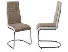 Chaises gris en métal pour la maison
