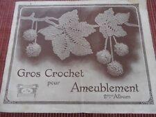 CATALOGUE POINT DE CROIX , CROCHET , BRODERIE  ( ref 55 )