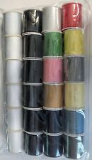 24 Assorted Spools of Thread Full Size 200 Yards Each, New, Free Shipping