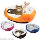 Puppy Pet Dog Cat Soft Fleece Warm Bed House Plush Cozy Nest Mat Pad Cushion