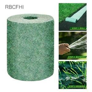 Grass Seed Mat Roll Seed Mats Grass Grow Carpet Garden Backyard Lawn Pad Blanket