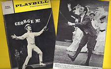 "Joel Grey ""GEORGE M!"" (Cohan) Jerry Dodge / Eileen Lawlor 1969 Playbill & Card"