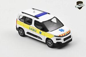 CITROËN BERLINGO 3 2020 - Voiture SAMU SMUR EMS van France - 1/43 NOREV 155769