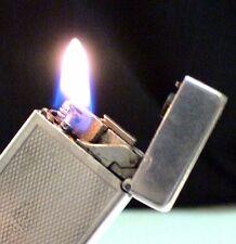 Briquet ancien * Dunhill Auto-Rollalite * Vintage LIGHTER Feuerzeug Accendino