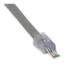 Platinum Tools 105024 ezEX®44 - ezEX-RJ45® CAT6 Connector