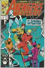 Avengers West Coast #67 : Marvel Comics : February 1991
