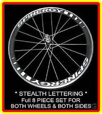 * SPINERGY STEALTH * * WHEEL LETTERING 650C & 700C front & rear graphics,decals
