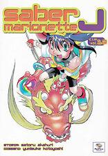 SABER MARIONETTE J n° 10 Edizione PlayPress Manga a 1€ -