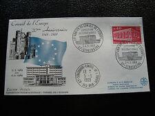 FRANCE - enveloppe 3 4 /5/1969 (20eme anniv conseil de l europe)(cy19) french