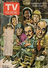 1976 TV Guide February 7-Desi Arnaz-I Love Lucy; Barney Miller; Blue Knight
