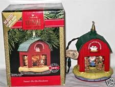 Hallmark Light Motion Ornament 1990 Santa's Ho-Ho-Hoedown
