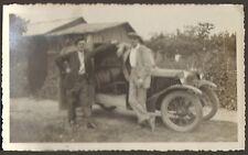 PHOTO AUTOMOBILE ANCIENNE A IDENTIFIER