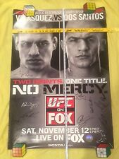 UFC on Fox 1 Signed Poster, Cain Velasquez/Dos Santos, SEG,Pride, Conor McGregor