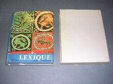 Zodiaque Beigbeder Lexique des symboles 1969 jaquette emboitage Nuit des temps 5