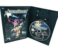 HERDY GERDY PS2 PLAYSTATION 2 DISC and manual ONLY tested FREE SHIPPING