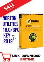 Norton Utilities 16 digital download lifetime license (windows XP,Vista,7,8 &10)