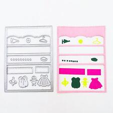 Skirt Tags Metal Cutting Dies Stencils Diy Scrapbooking Crafts Gift Card Making
