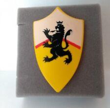 *Playmobil* Wappenschild gelb mit Löwen Motiv *Ritterburg 7533 4871 4867 4163*