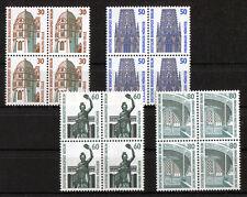 Berlin 793 - 796 Viererblock VB SWK postfrisch Viererblöcke Sehenswürdigkeiten