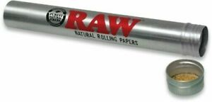 RAW Aluminium Cone Holder Tube - Smell Proof Pre Rolled Joint Storage Tube