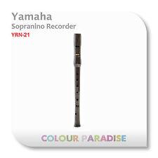Yamaha Sopranino Recorder YRN-21 - High Key German Fingering School Clarinet