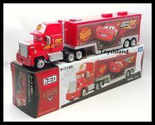Tomica Disney CARS MACK Team Transporter Cargo Truck TRAILER TOMY 2016 New LONG