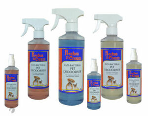 Pooches N Cream Pet Perfume Deodoriser Dog Cats Kennels Cattery Cages Grooming