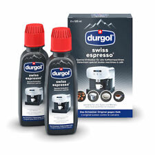 Durgol Swiss Espresso Cafissimo Decalcifier (2x125ml Bottles) -TRACKED SERVICE