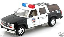 Superior 1/24 Police Chevrolet Suburban - Great For Collections or Customs