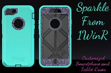 "Otterbox Defender Series Custom Glitter Case for 4.7"" iPhone 7 Teal/Smoke"