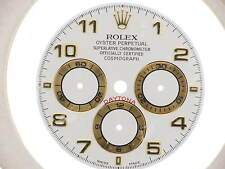 Rolex White arabic dial quadrante Daytona 16528 16518 original new bianco arabi