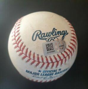2020 LA Angels Shohei Ohtani Game Used hit Foul Ball MLB Hologram vs Oakland A's