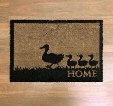 DOORMAT Duck / Home 60 cm Long Coir Door Mat Rubber Backing NEW